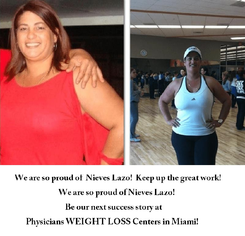 nieves before and after weight loss